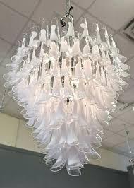 vintage glass chandelier crystals acorn crystal basket chandelier contemporary