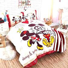 mickey mouse twin sheet sheets image of cozy bedding size for and bed set disney