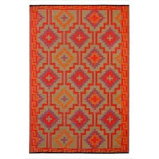 lhasa 120x179cm reversible outdoor rug red