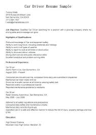 Delivery Driver Resume Examples 12 Inspirational Delivery Driver Resume Sample Shots