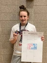 Jiu jitsu and wrestling have made Abby Dudley a confident athlete