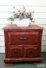 smokin hot barn red night stand make