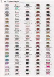 Page 1 Of My Combined Color Chart That Includes Prismacolor