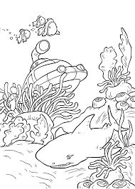 Small Picture Underwater Coloring Pages To Download And Print For Free