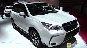 subaru forester 2016 white. Wonderful 2016 2015 Subaru Forester 20 XT  Exterior And Interior Walkaround 2014 Paris  Auto Show YouTube On 2016 White 6