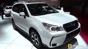 subaru forester 2015 white. 2015 subaru forester 20 xt exterior and interior walkaround 2014 paris auto show youtube white r