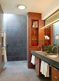 Simple Master Bathroom Showers Without Doors Is A Doorless Shower In Perfect Design