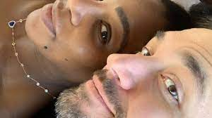 Serena Williams happy with her husband ...