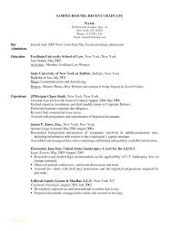 Sample Resume For New Graduate Nurse Resume Example Resume Example