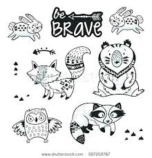 Coloring Pages Forest Animals Rainforest Animals Coloring Pages Avonrussia