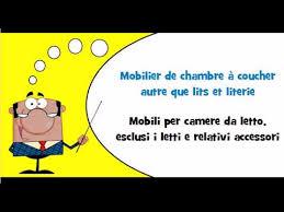 Mobili Per La Casa On Line : Lezione di francese vocabolario tema mobili per la casa