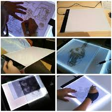 Light Box Drawing Tracing Us 6 75 40 Off Usb Plug A4 A5 Dimming Led Light Box Drawing Trace Board Copy Pad Panel Drawing Tablet Art Crafts Mould In Led Panel Lights From