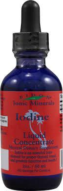Купить Eidon Ionic Minerals <b>Жидкий концентрат йода</b> - 2 унции ...