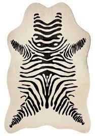 brown zebra print rug zebra rugs flooring