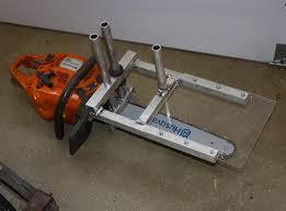 mini chainsaw. zac built alaskan sawmill mini chainsaw