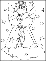 christian christmas colouring pages