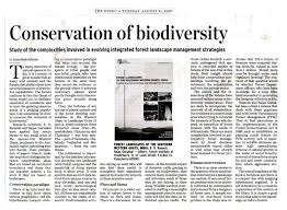 on conservation of biodiversity conservation of biodiversity essay example topics