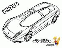 Hair Raising Cars Coloring Pages