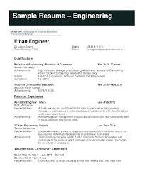 Sample Engineering Internship Resume Engineering Internship Resume ...