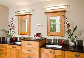 above bathroom vanity mirror lights from long wall sconces full size above mirror lighting bathrooms