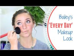bailey s everyday makeup routine brooklyn and bailey