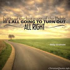 Billy Graham Quotes Beauteous Billy Graham Quote The End ChristianQuotes