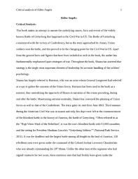 order jpg analytical critique of killer angels by michael shaara analytical critique of killer angels by michael shaara