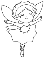 I made the coloring page of fairies to share with you! Fairies Coloring Pages