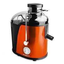 <b>Соковыжималка Scarlett SC-JE50S16</b> оранжевый — купить в ...