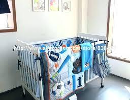 baby boy sports crib bedding sets 8 baseball nursery football vintage themed