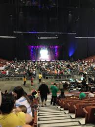 Honda Center Section 202 Concert Seating Rateyourseats Com