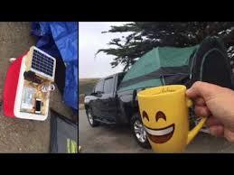 Silverado & Guide Gear Truck Tent Camping - YouTube