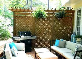 privacy screen ideas for backyard garden screening patio outdoor deck free standing uk ou