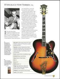 Johnny Smith D'Angelico New Yorker + Jim Hall D'Aquisto guitar article w/  specs #DAngelico | Guitar, Guitar reviews, Signature guitar
