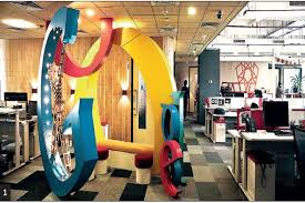 Where is google office Dublin More Evolved Concept In The West The Idea Of Communicative Welldesigned Office Culture Is Finally Making Its Way To This Side Of The Globe The Financial Express Your Dream Office In Snapshot The Financial Express
