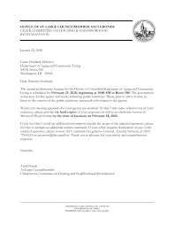 OFFICE OF AT-LARGE COUNCILMEMBER ANITA BONDS CHAIR, COMMITTEE ON HOUSING &  NEIGHBORHOOD REVITALIZATION January 22, 2020 Laur