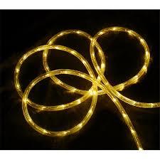 christmas rope lighting. Yellow LED Indoor - Outdoor Christmas Rope Lights Lighting A