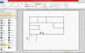 create a fire escape plan in visio 2010