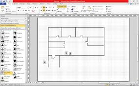 create a fire escape plan in visio 2010