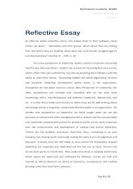 Reflective Essay Format Adorable Reflective Essay Writing Examples Structure Kindredsoulsus