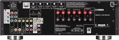 amazon com yamaha rx v571bl 7 1 channel av receiver the yamaha rx v571 receiver