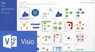 Microsoft Visio Original Microsoft Visio Professional 2016 D87 07101
