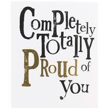 Proud Of You Quotes Stunning Re I Am So Proud Of You RLOA English I