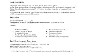 Front End Web Developer Resume Java Front End Web Developer Resume Dadajius 19