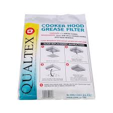 Hood Grease Filter Universal Cooker Hood Grease Filters Pack Of 2 Amazoncouk
