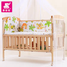 get quotations like baby baby imported wood bed baby cradle bed cot bed folding multifunction baby bed baby