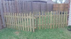 temporary yard fence. Temporary Yard Fencing Picture Of Creating The Fence Part 1 Backyard . P