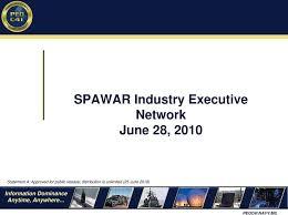 Spawar Industry Executive Network June 28 Pdf