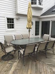 tropitone patio furniture includes 8