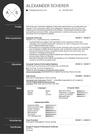 Resume Examples By Real People Helpdesk Technician Resume
